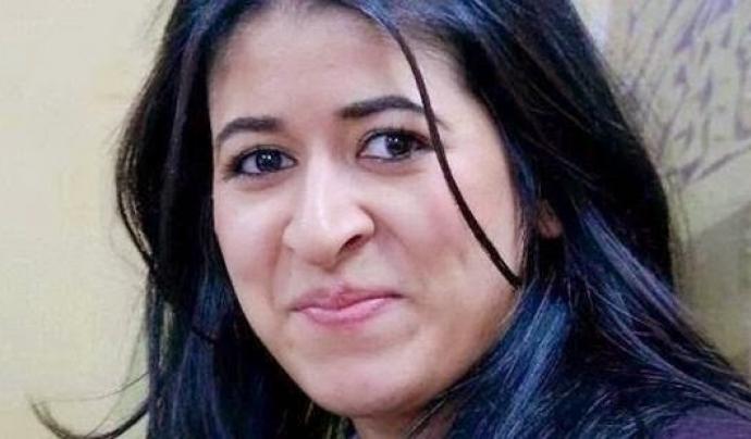 Wafae Charaf, activista pels drets humans del Marroc. Font: Heroínas