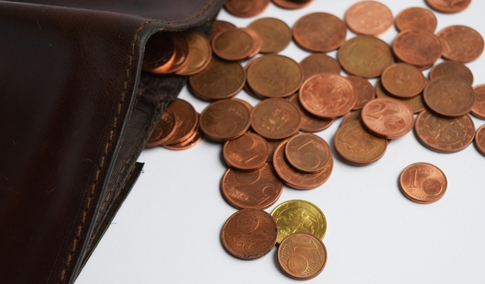 La taxa Arope s'analitza a partir de tres subindicadors: els baixos ingressos, la baixa intensitat de treball i la mancança severa material Font: Pixabay