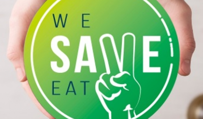 We Save Eat, app creada el mes de setembre.  Font: We Save Eat