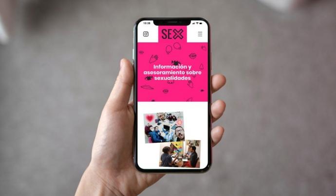 Nova web de Sexus, de l'ABD. Font: Sexus
