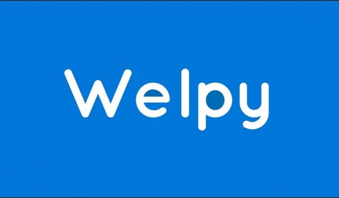 Welpy és una app que connecta entitats i voluntariat.  Font: Welpy
