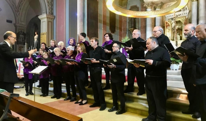 Concert de Nadal (Desembre 2018) Font: Coral La Lira Viladecans