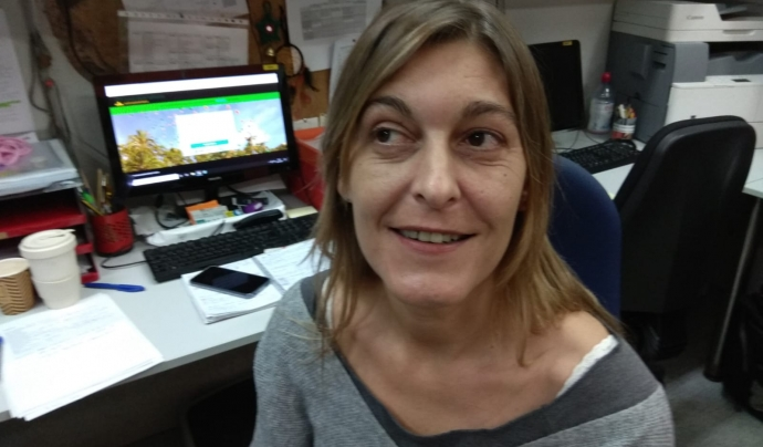 Maria José Garcia, directora territorial del Casal dels Infants del Raval Font: Casal dels Infants