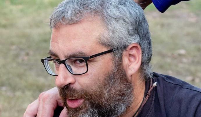 Óscar Rando, fundador del festival i membre del Consell rector de la cooperativa Esperanzah. Font: Jordi Flores