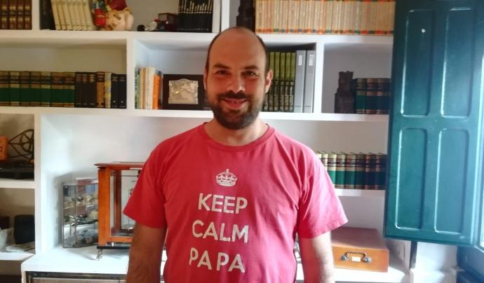 Carles Viñas, coordinador de l'àrea de coneixement de Torre Jussana. Font: C. V. Font: C. V.