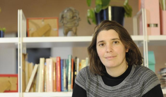 Esther Girabet és sòcia i fundadora de la cooperativa Avantva Font: Dani Ahph