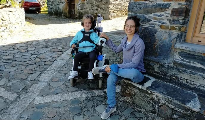 L'Olga Barrero és mare de la Júlia, i és una de les fundadores de l'Associació ImpulsaT Per a la cura dels nens amb dèficit de merosina. Font: Imatge cedida per Olga Barrero