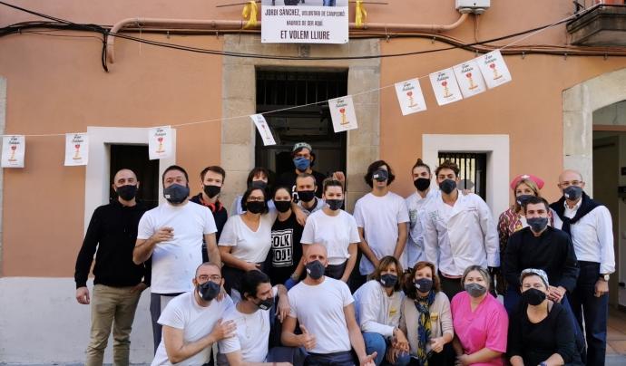 Uns 90 voluntaris organitzen la 'Tapa solidària'. Font: Fundació Canpedró