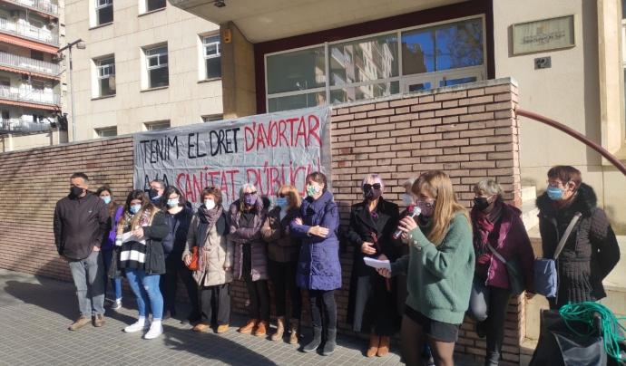 Lleida continua sent l'única província catalana on no es practiquen avortaments instrumentals.  Font: Grup de Dones de Lleida