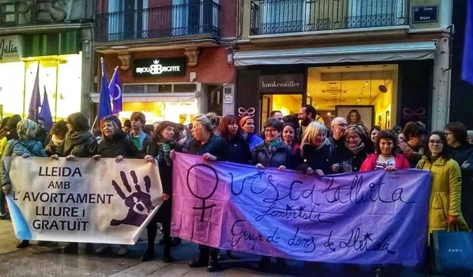 El Grup Feminista de Ponent té per objectiu acabar amb el patriarcat i reivindicar els drets, l'espai i el poder comú de les dones.  Font: Grup de Dones de Lleida