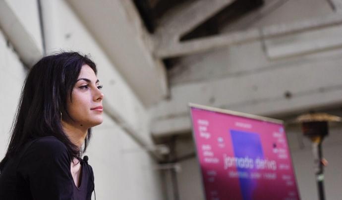 L'Anabel treballa a Obertament, una entitat que lluita contra l'estigma de la salut mental Font: Anabel Lorente