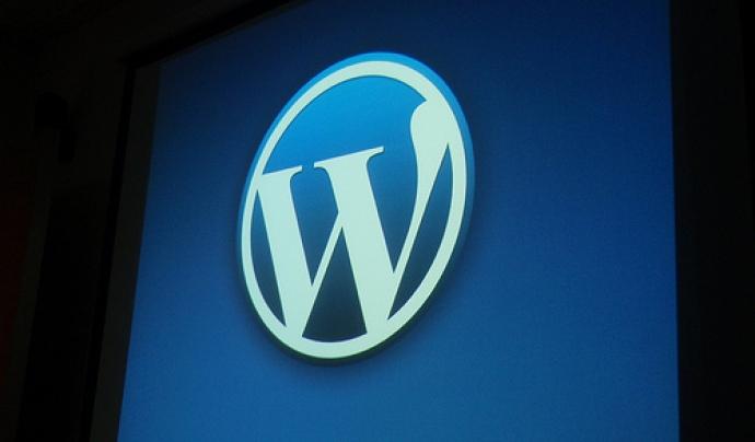Wordpress és el CMS que utilitzem a la plataforma de blocs. Foto de Mykl Roventi