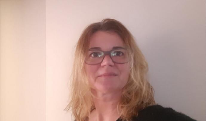 Anne Garcia, responsable comunicació Telèfon de l'Esperança Font: cedida