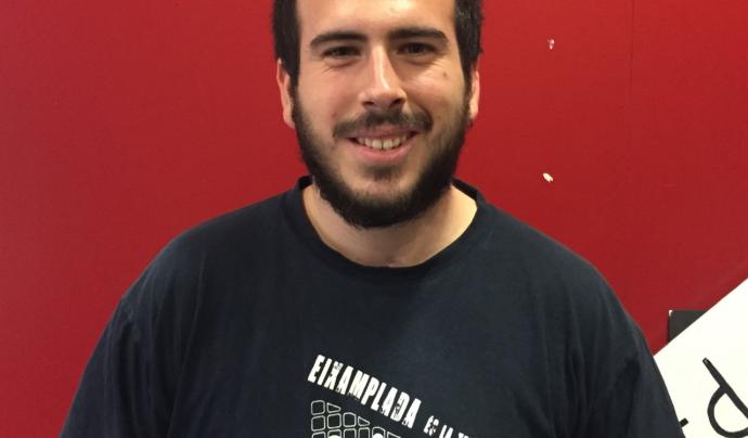 Xavi Becerril, tècnic informador del CRAJ i referent en temes de sostenibilitat. Font: CRAJ