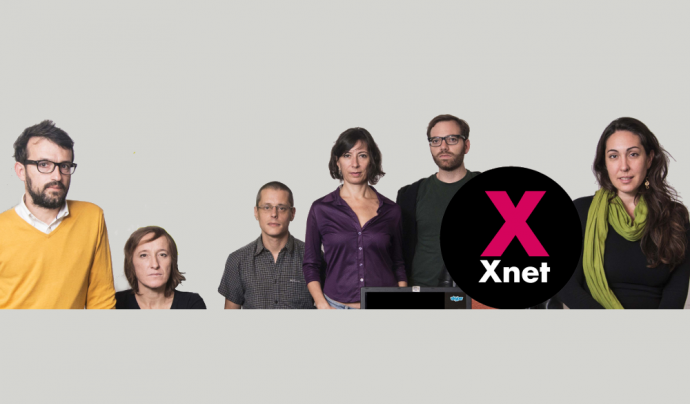 Tot i no ser advocats i advocades, l'equip d'Xnet té un ampli coneixement de la legislació en matèria de drets digitals. Font: Xnet