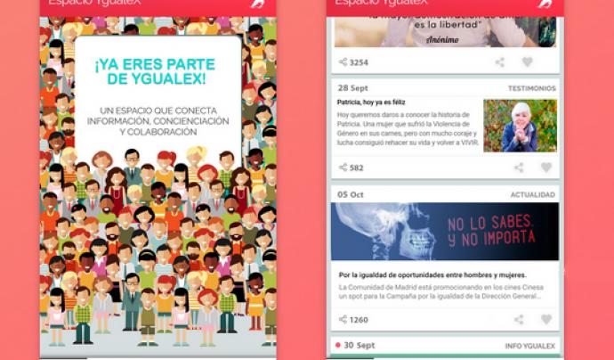 Un espai virtual contra la violència de gènere i per la igualtat