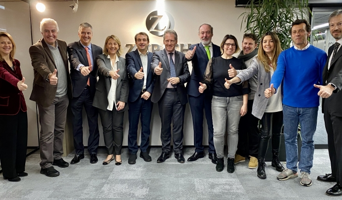 Acord entre migranodearena i la Z Zurich Foundation per promocionar l´esport amb valors Font: La solidaritat es puja a al podi del running