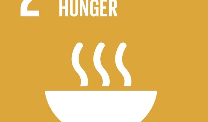 Imatge de Zero Hunger. Font: World's Largest Lesson