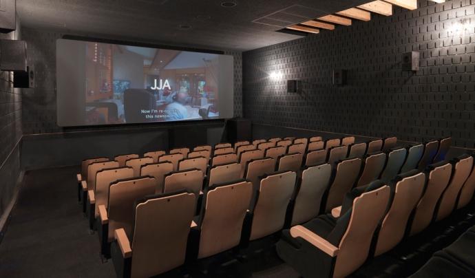 Auditori de la sala de projecció de pel·lícules de Zumzeig. Font: Zumzeig