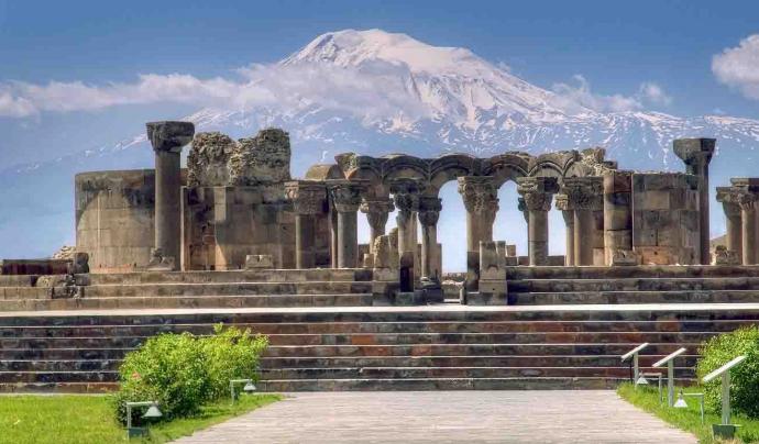Zvartnots, Armènia