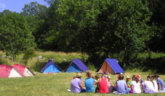 Campaments d'estiu. Font: Xarxanet
