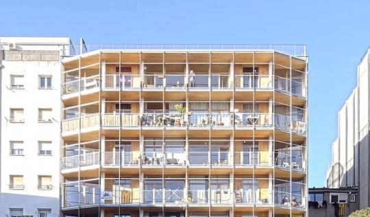 Cooperativa d'habitatge La Borda. Font: La Borda