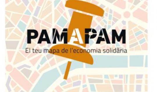 El teu mapa de l'economia solidària a Pam a Pam.