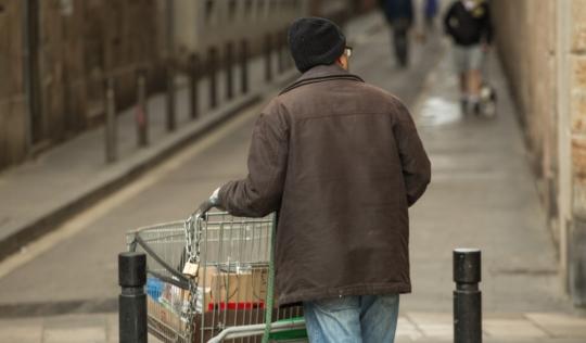 La Taula del Tercer Sector considera clau la Renda Garantida de Ciutadania per combatre la pobresa. Font: Taula del Tercer Sector