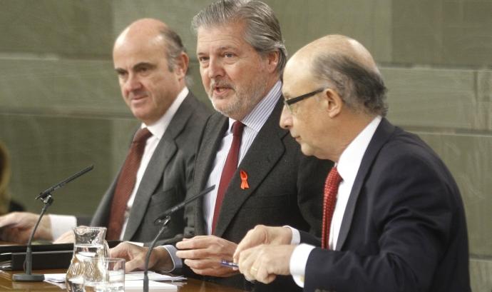 Roda de premsa posterior al Consell de Ministres. Font:www.lamoncloa.gob.es Font:
