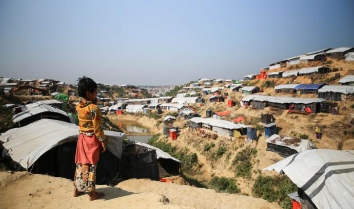 La comunitat rohingyes un any després