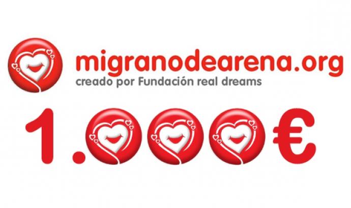 migranodearena.org recapta més de 1.000€ al dia Font: