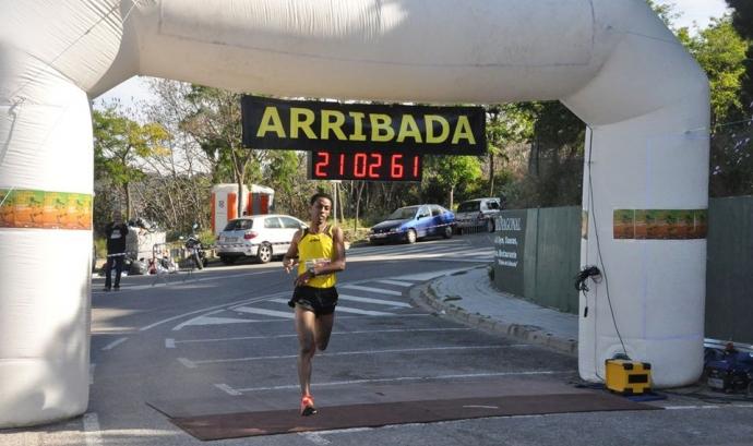 Arribada de Daniel Abate, guanyador de la 1a Cursa Solidària AFNE Arriba de Daniel Abate, guanyador de la 1a Cursa Solidària AFNE  Font:
