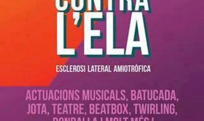 Acte solidari amb l'ELA a Deltebre Font: