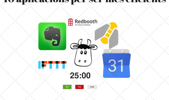10 aplicacions per ser més eficients! Font: