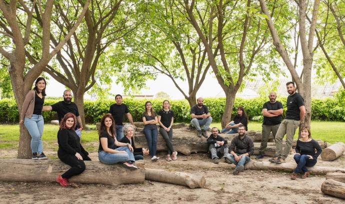 Algunes de les representant de les productores que formen Mengem Garrigues. Font: Mengem Garrigues