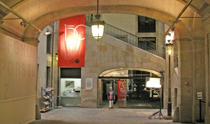 El debat tindrà lloc a la Sala Verdaguer de l'Ateneu Barcelonès. Font: Ateneu Barcelonès