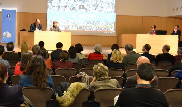 Presentació a les entitats de les activitats de la Capital Europea del Voluntariat Font: