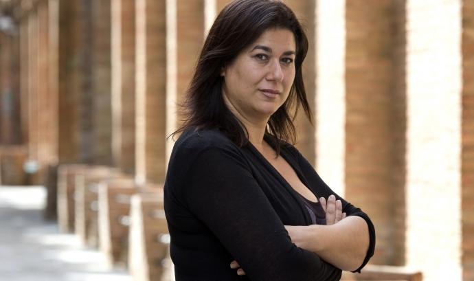 Ana Contreras, presidenta de l'entitat Drom Kotar Mestipen. Font: Drom Kotar Mestipen