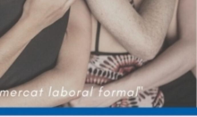 Part del cartell 'Teixint futurs per la inserció laboral de dones diverses'