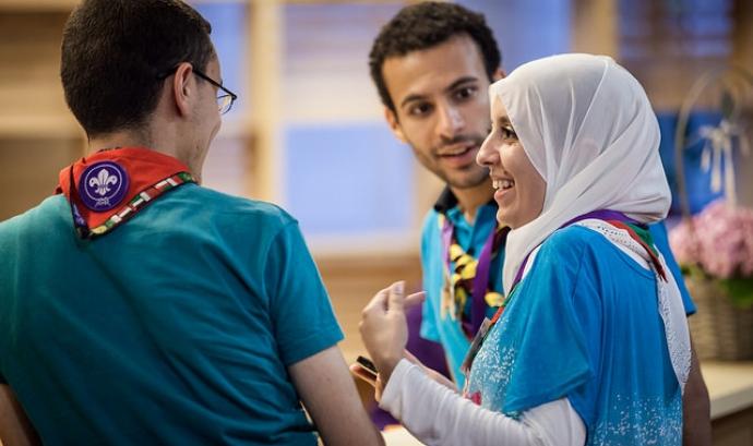 Fòrum mundial d'Escoltes. Imatge amb llicència CC BY-NC-ND 2.0 Font: World Scouting (Flickr)
