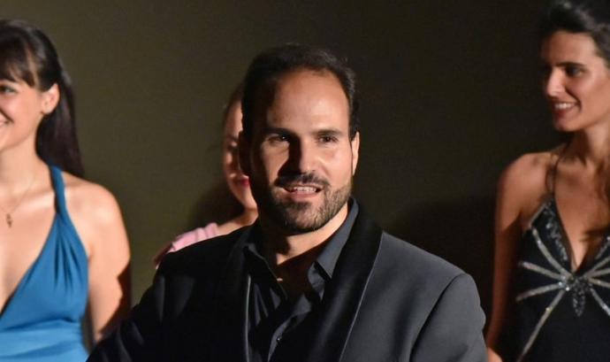 Marc Sala és tenor i president de l'entitat. Font: Toni Bofill