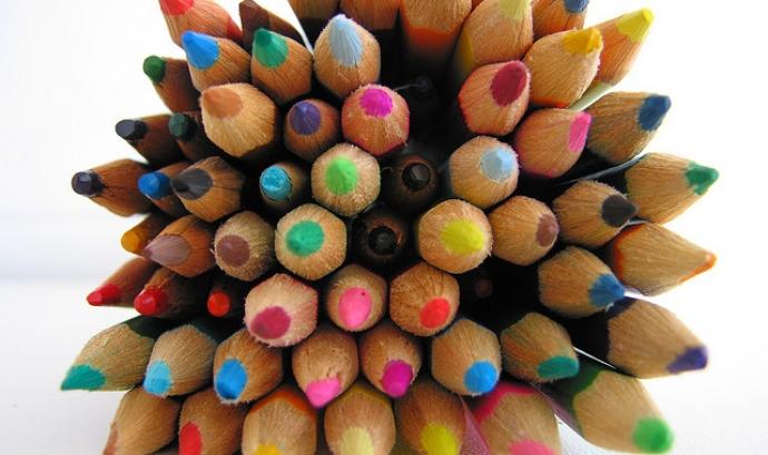 Llapis de colors. Font: LLARANDI (flickr.com) Font: