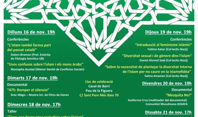 Cartell Jornades d'Apropament a les Realitats Islàmiques