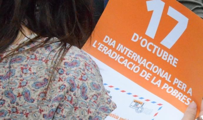 La pobresa és evitable, 17 d'octubre a Barcelona Font: