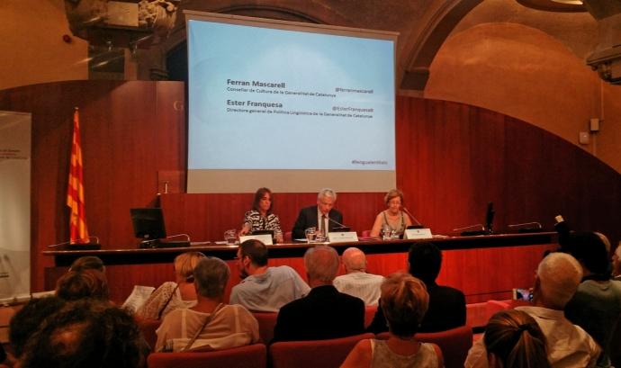II Trobada d'entitats de foment de la llengua catalana. Font: Suport Associatiu Font: