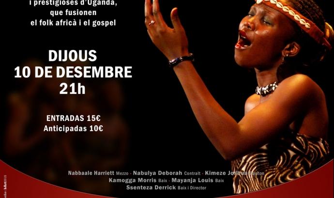 Cartell del concert de Gospel. Font: Música para salvar vidas