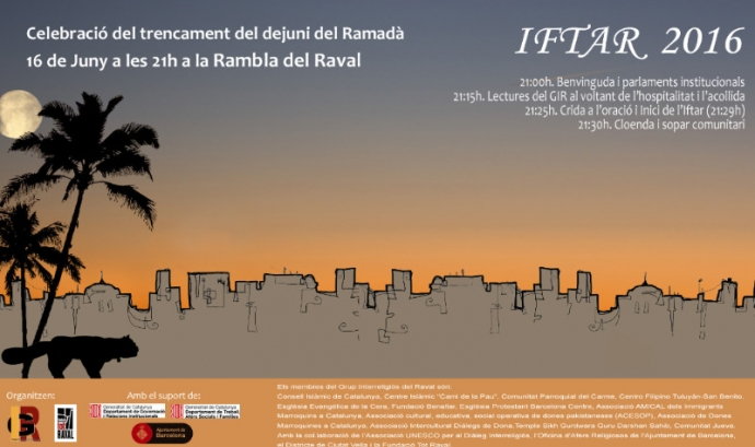 Cartell Iftar Raval