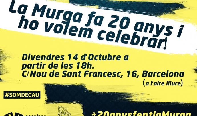 20 anys fent la Murga!