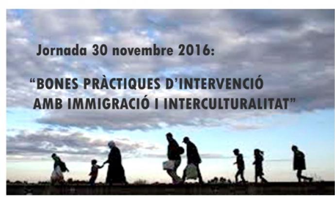 Jornada: Bones pràctiques d'intervenció amb immigració i interculturalitat