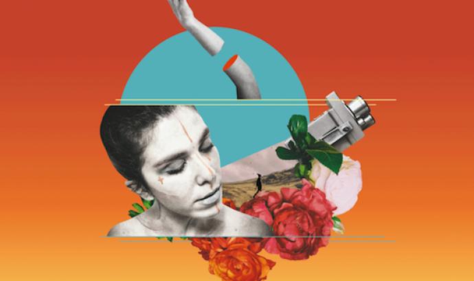 Cartell de la 8a edició del Festival Internacional de Cinema de Cerdanya